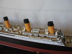 Titanic Model, Rms Titanic, Scale Model Ships, Scale Models, Best Model, Liverpool, Ocean, Magazine, Building
