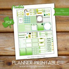 "Hello peeps! It's a new week, and if you are impacted by Daylight Savings time you might have had to take that into account as well.  By that I mean feeling frazzled, with time changes and the impact on your planning.     St. Patrick's Day is approaching soon,so  today, I am releasing another  ""freebie"" printable that I … Continue reading Mini Happy Planner – Irish Spring Planner Stickers →"