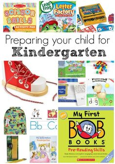 The best way to prepare your child for Kindergarten. Here are some things they need to know, and items to help them prepare for their first day! Kindergarten Preparation, Kindergarten Books, Kindergarten Readiness, Kindergarten First Day, School Readiness, Preschool Kindergarten, Preschool Learning, Preschool Activities, Learning Apps