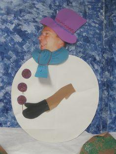 Principal as the snowman