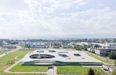 SANAA - Rolex Learning Centre  Photo by Iwan Baan