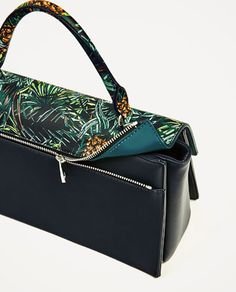 Image 5 of CITY BAG WITH INTERCHANGEABLE FLAP from Zara