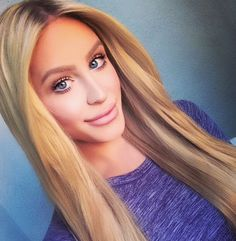 Gigi Gorgeous(Youtuber)  Love the makeup look  Simple but really flirty