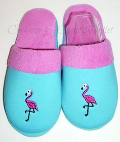 Flamingo Slip On Slippers Shoes