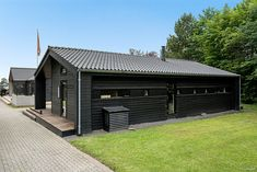 Black Line - Se vores designlinie Black Line - Stenhøj Husene A/S Concept Home, Home Design Plans, Small House Plans, Interior Exterior, Amazing Architecture, Home Fashion, Tiny House, New Homes, Spa