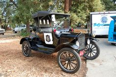 1920's Ford Model T Police Car..........
