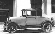 1929 Ford Model A Leatherback Coupe
