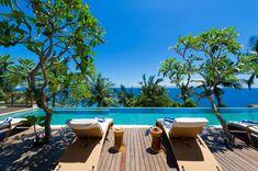 Take me away. Malimbu Cliff Villa in Indonesia