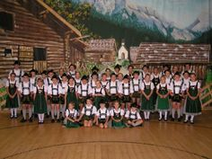 The Trachtenverein Oberstdorf, the largest (1000 members) and one of the oldest groups in Germany.