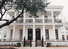 Henry Howard Hotel New Orleans, Louisiana Boutique Hotels Food + Drink Girls Getaways Hotels Trip Ideas Weekend Getaways tree property building neighbourhood house Architecture home plaza Courtyard mansion condominium palace