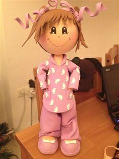 fofucha en pijama