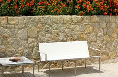 Viteo's Bandoline lounge double chair is the ideal spot for your guests to sit in. Outdoor Sofa, Outdoor Furniture, Outdoor Decor, Chair Bench, Outdoor Settings, Lounge, Modern, Collection, Instagram