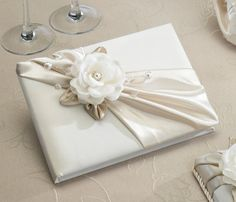 Taupe Rose Guest Book - LRGB470T