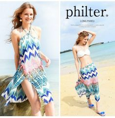 Philter ロングパレオ / Long Pareos on ShopStyle
