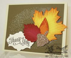 Autumn accents holiday frame
