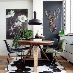 Fashion and Lifestyle Dining Nook, Dining Room Design, Home Interior, Interior Design, Cool Rooms, Home Living Room, Home Decor Inspiration, Decoration, Feng Shui