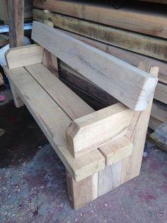 Pallet Outdoor Furniture Branson Leisure: Cranham green oak seat 2 of 3
