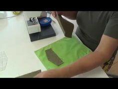 tutorial 13: achterzak met klep Sewing Basics, Sewing Hacks, Sewing Tutorials, Sewing Techniques, Welt Pocket, Youtube, Diy, Fashion Styles, Bricolage