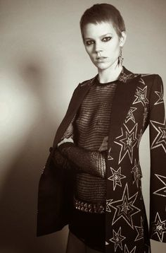 """Dreaming of Dior: """"Androgynous"""" Freja Beha Erichsen for Vogue Paris May 2015"""