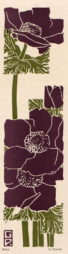 Gustav Petzoldt. Jugend magazine, 1918.