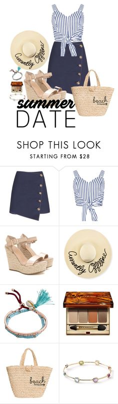 """""""Ask me how I know"""" by mary1285323 ❤ liked on Polyvore featuring WithChic, Eugenia Kim, Billabong, Clarins, Hat Attack and Ippolita"""