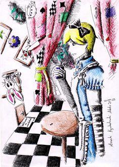 Allex in Wonderland (Alice male version)