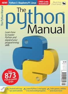 The Python Manual will help you learn how to master Python and expand your programming skills!