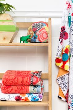 Folded, draped or wrapped: these towels look amazing any way you place them!