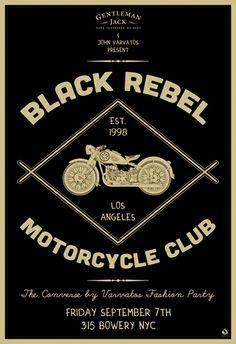 Black Rebel Motorcycle Club by Scarlet Rowe