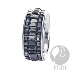 Plangsten ring, combination of tungsten and platinum Tungsten Mens Rings, Optical Glasses, Luster, Sterling Silver Jewelry, Confidence, Gemstone Rings, Rings For Men, Just For You, Wedding Rings