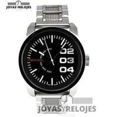Colosal ⬆️😍✅ DIESEL DZ1370 😍⬆️✅ , Modelo perteneciente a la Colección de RELOJES DIESEL ➡️ PRECIO 89 € En exclusiva en 😍 https://www.joyasyrelojesonline.es/producto/diesel-dz1370-reloj-reloj-de-pulsera-masculino-acero-inoxidable/ 😍 ¡¡Corre que vuelan!! #Relojes #RelojesDiesel #Diesel