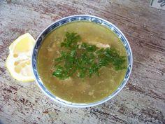 Chorba beida : la soupe blanche au poulet d'Alger