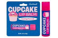 Cupcake Lip Balm A moment on your lips but not forever on your hips. The Cupcake Lip Balm gives you great frosting flavor, protection against chapped lips and great flavor. Chapstick Lip Balm, Love Lips, Smooth Lips, Chapped Lips, Makeup Case, Beauty Shop, Looks Cool, Shampoo And Conditioner, Lip Gloss