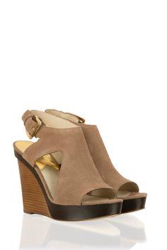 Sleehakken Josephine | bruin | Michael Kors | Little Soho | The Online Fashion Boutique
