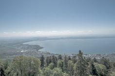 View from Chaumont, Neuchatel, Switzerland