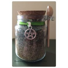 Hand Blended Money,luck And Prosperity Incense With Jar And Spoon. | eBay  #witch #wicca #pagan #wiccan  #spell #incense #pentacle #occult