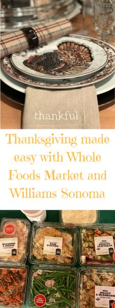 Cookwith5Kids | Thanksgiving made easy with Whole Foods Market and Williams Sonoma | https://cookwith5kids.com