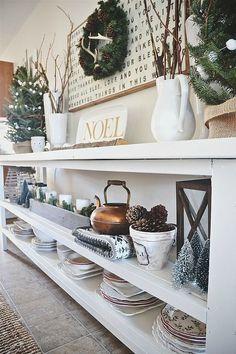 Christmas dining room- sneak peek lizmarieblog.com: