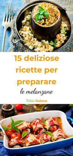 Deliziose idee facili e veloci con le melanzane Empanadas, Ricotta, Avocado Pasta, Going Vegan, Vegan Vegetarian, Recipies, Vegan Recipes, Curry, Appetizers