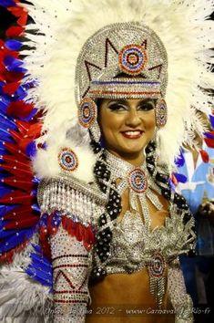 Carnaval de Rio Rio Carnival Spirit, Carnival Masks, Carnival Costumes, Dance Costumes, Brazilian Samba, Samba Costume, Brazil Carnival, Carnival Outfits, Costumes Around The World