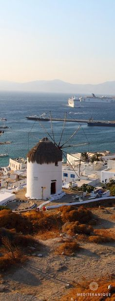 """"""" Mykonos, Greece, a truly beautiful island, with picturesque Cycladic style villages and incredible beaches. Places Around The World, The Places Youll Go, Places To Go, Around The Worlds, Wonderful Places, Great Places, Beautiful Places, Santorini, Mykonos Greece"""