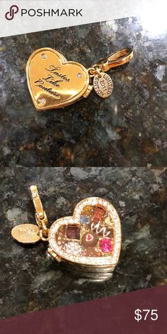 Limited edition Juicy Couture 2011 Valentine charm Limited edition 2011 box of chocolates charm by juicy couture one of my favorites but it's too heavy on my bracelet! I took it off and I feel like it's such a waste to have such a pretty piece just sit in a cabinet and not be worn!! It's in gorgeous condition and opens/closes. Offers welcome ❤️  #juicy couture #coach #forever 21 #vera wang #jessica Simpson #charm bracelet #hot topic #valentines day Juicy Couture Jewelry Bracelets