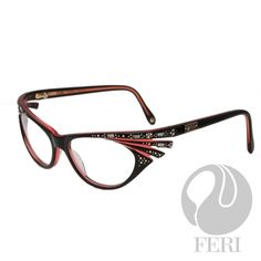 Global Wealth Trade Corporation - FERI Designer Lines Women's Optical, Optical Eyewear, Optical Glasses, Optician, Prescription Lenses, Eye Candy, Baguette, Frames, Iridescent