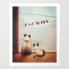 Friendship Art Print by Naomi VanDoren - $15.00