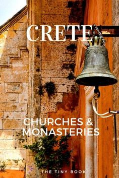 In this article, you'll discover the most beautiful monasteries in Crete. Remarkable and hidden churches and monasteries on Crete island. Mykonos Greece, Crete Greece, Athens Greece, Santorini, Crete Island, Greece Islands, Greece Travel, Greece Vacation, Battle Of Crete