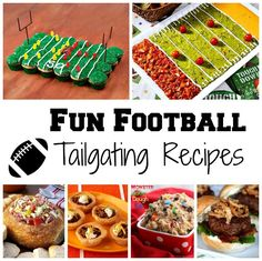 Fun Football Tailgating Recipes (and bling)!