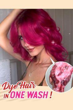 Curly Hair Styles, Natural Hair Styles, Color Shampoo, Red Hair Dye Shampoo, Beautiful Hair Color, Moisturize Hair, Hair Dos, Hair Hacks, Dyed Hair