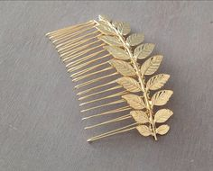 You don't have to fly to Santorini to feel like a Grecian goddess. This Greek branch hair comb adds the perfect touch.
