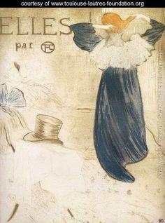 Elles - Henri De Toulouse-Lautrec - www.toulouse-lautrec-foundation.org