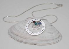 Family Tree Sterling Silver Pendant  Birth by BelindaCarmichaelSJ, $79.00 #pcfteam
